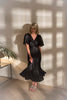 roses-are-red - DENISE SILK DRESS - BLACK - DRESS