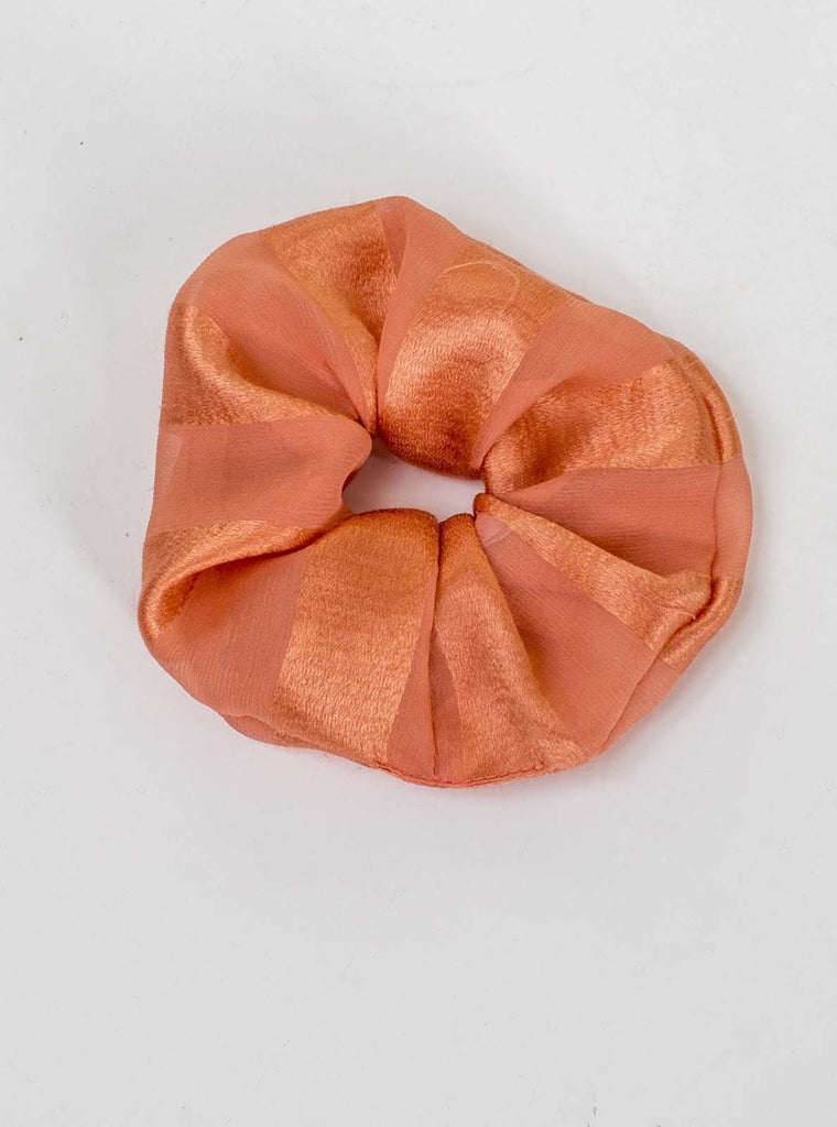 SILK SCRUNCHIE - ORANGE