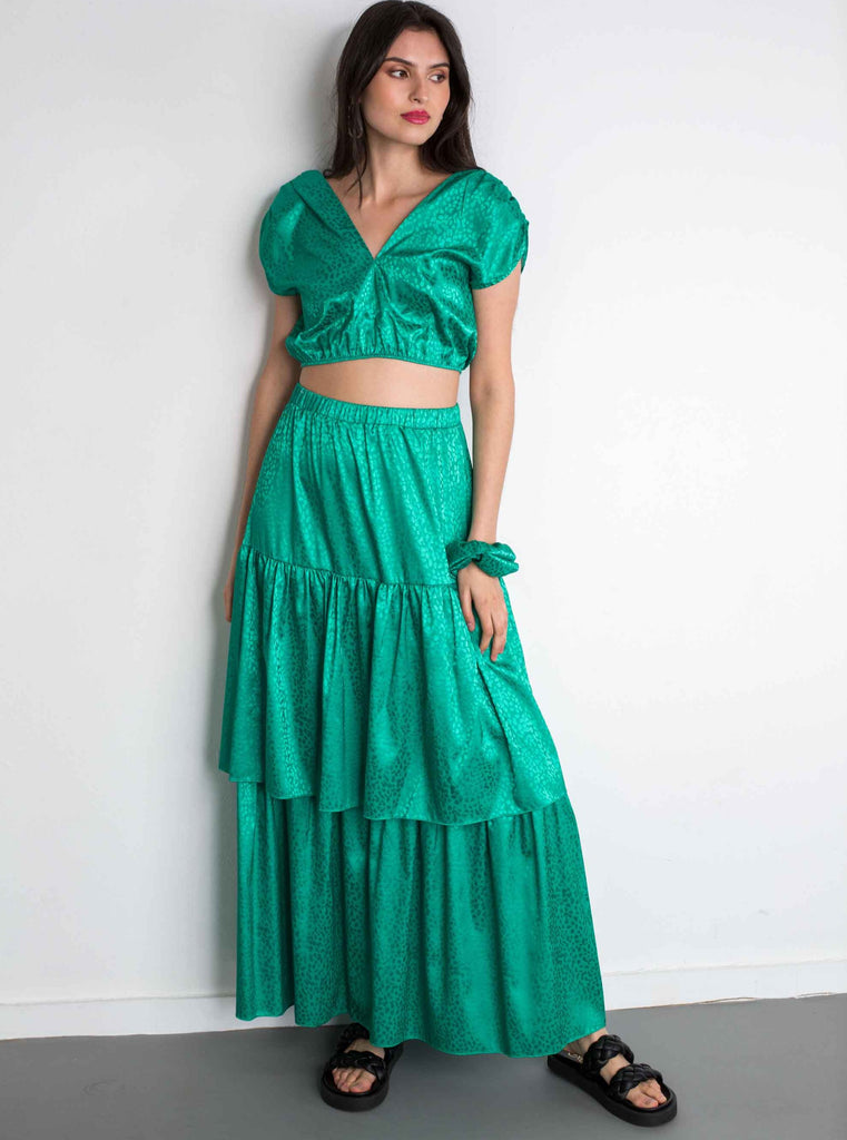 ELLE SKIRT - GREEN