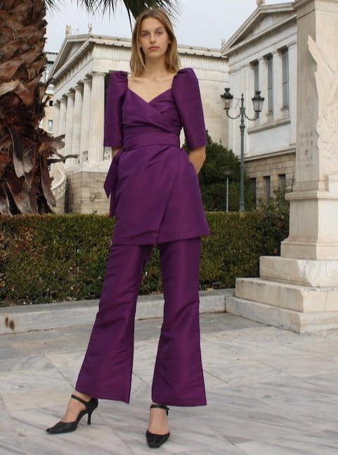 JULIA PANTS - PURPLE