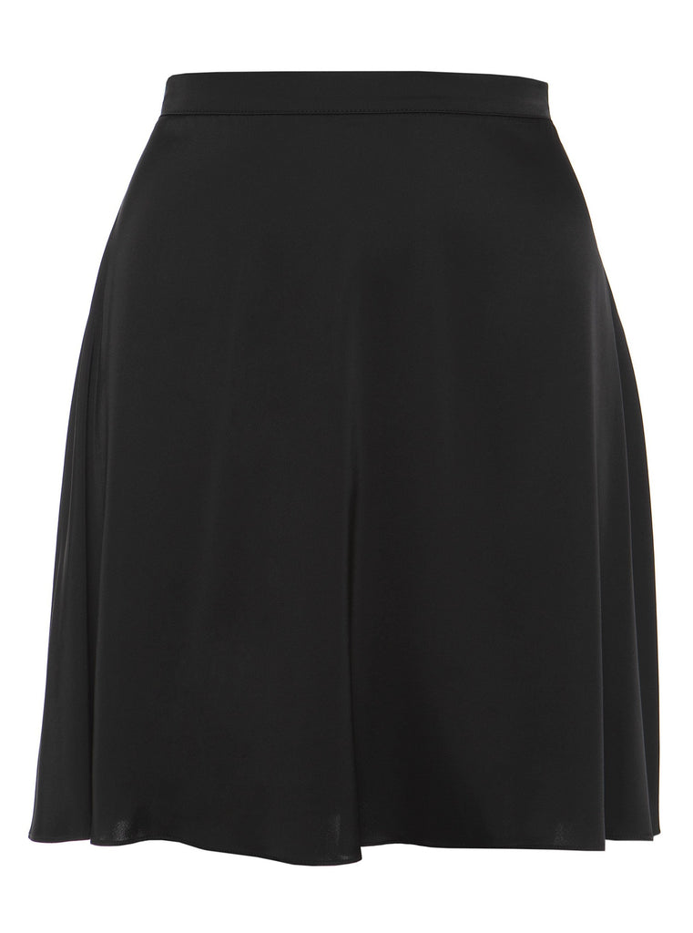 LUNA MINI SKIRT - BLACK