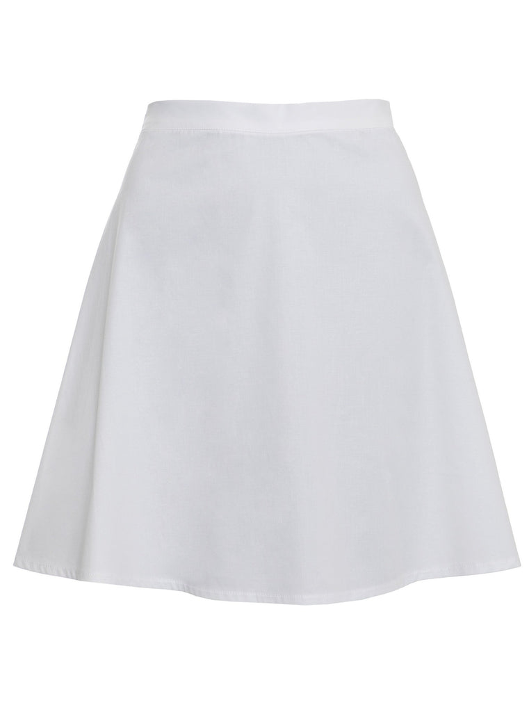 LUNA MINI SKIRT - WHITE