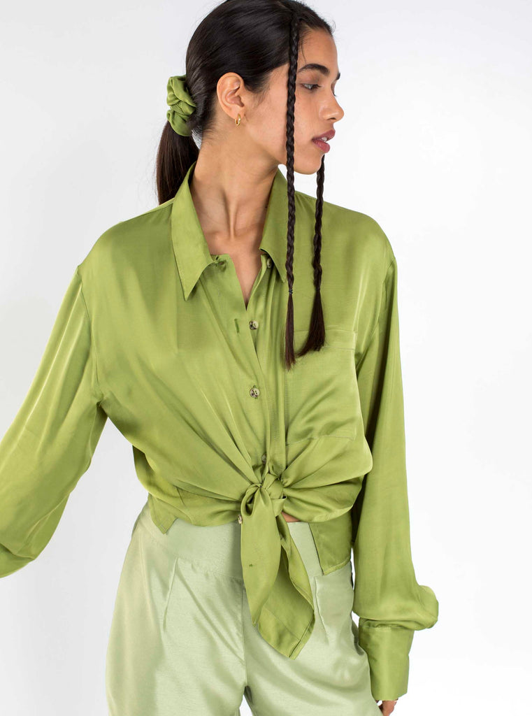 THE OLIVE SHIRT