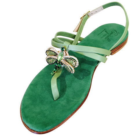 GREEN DRAGONFLY SANDAL
