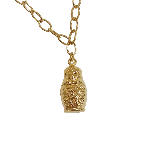 MATRESHKA NECKLACE
