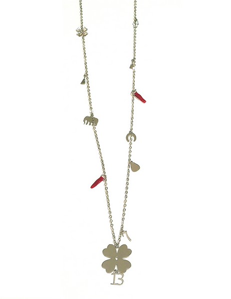 LUCKY CHARM LONG NECKLACE - on SALE -30%
