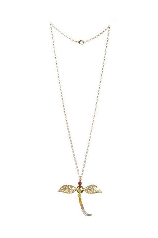 RENAISSANCE DRAGONFLY NECKLACE