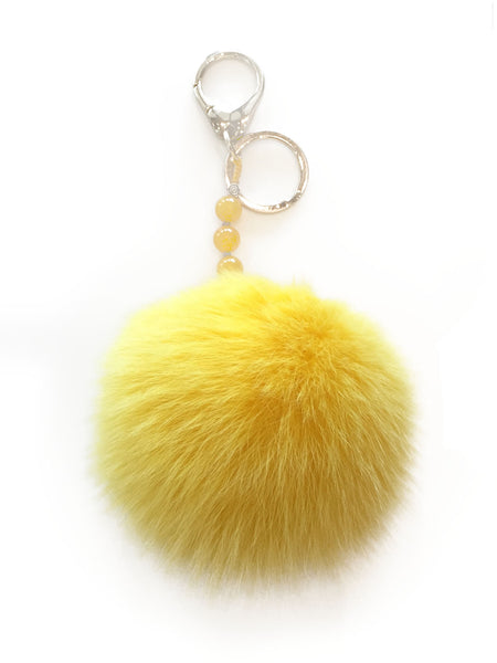 POMPOM HANDBAG CHARM / KEY CHAIN