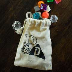Dungeons & Doritos Dice Bag