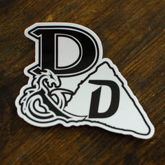 Dungeons & Doritos Logo Sticker