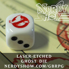 GBRPG Starter Kit :: Equipment Cards & Ghost Dice