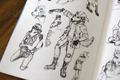 Lightning Dogs: Sketchbook One