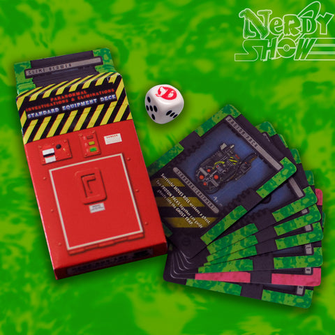 PRE-ORDER - GBRPG Starter Kit :: Equipment Cards & Ghost Dice