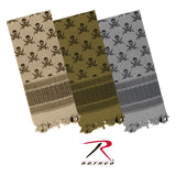 Rothco Skulls Shemagh Tactical Desert Scarf