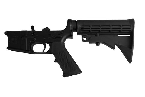 AR15 Complete Lower 7075-T6 MULTI CAL