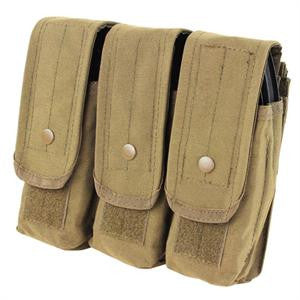 Condor Outdoor Triple AR/AK Mag Pouch - Color Options
