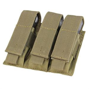 Condor Outdoor Triple Pistol Mag Pouch - Color Options