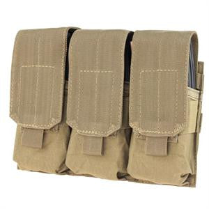 Condor Outdoor Triple M4 Mag Pouch - Color Options