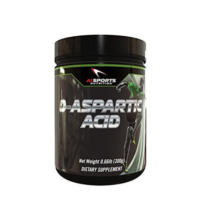 AI Sports Nutrition D-Aspartic Acid - Nitric Oxide Booster - 300 g