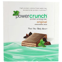 POWER CRUNCH BAR  CHOCOLATE MINT 12 count