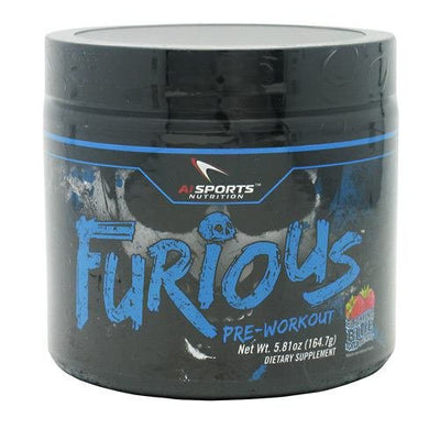 Anabolic Innovations Furious Booming Blue Raspberry, 5.81 Ounce
