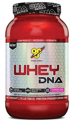BSN WHEY DNA, Strawberry Cream, 1.74lb (25 servings)