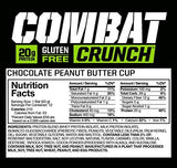 MUP COMBAT CRUNCH BAR 12/63g CHOCOLATE CHIP COOKIE DOUGH