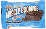 LL MUSCLE BROWNIE 12/2.82oz TRIPLE CHOCOLATE