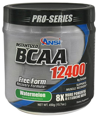 Ansi Instantized BCAA 12400 Watermelon 40 Servings