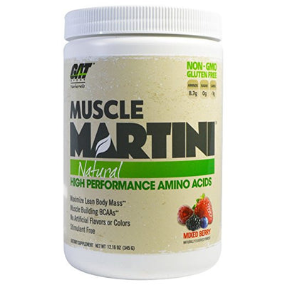 GA MUSCLEMARTINI NATURAL 345g MIXED BERRY CANDY