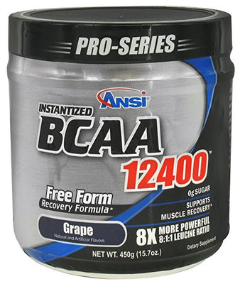 Ansi Instantized BCAA 12400 Grape 40 Servings
