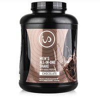 IdealShape Men's All in One Chocolate - Meal Replacement Shake w/Added Protein