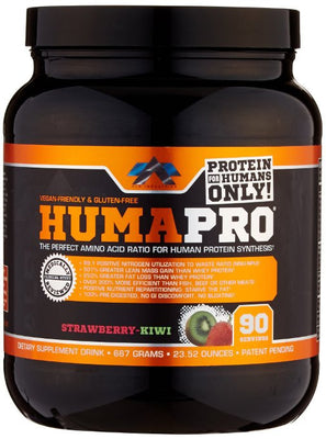 ALR Industries Humapro Protein Matrix Formulated for Humans, Strawberry Kiwi, 667 Gram