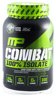 MUP COMBAT 100% ISOLATE 2lb VANILLA ICE CREAM