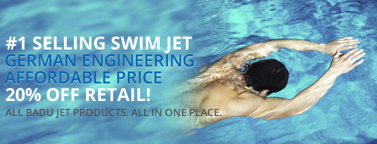 Best Badu Swim Jet | Quality Swim Spa | Low Price | Create an Exercise Lap Pool