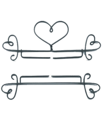 Hanger w Heart Ends-2 Pc
