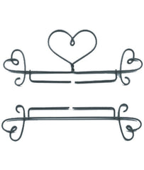 2 pc Bell Pull Hearts