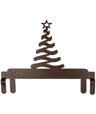 Modern Christmas Tree Header Copper Vein D