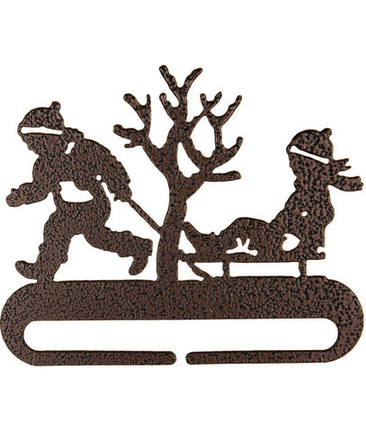 Boy & Sled Split Magnet