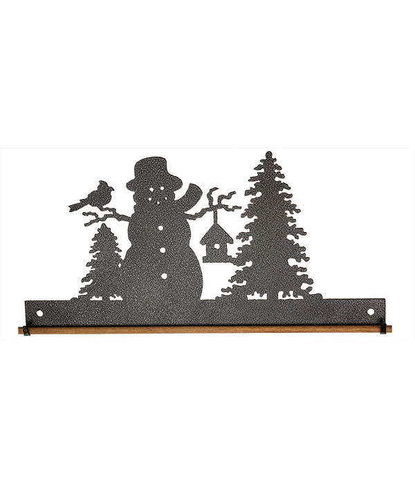 Frosty Snowman Fabric Holder