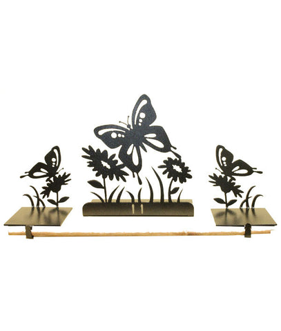 Summer Butterfly Mantel Decor