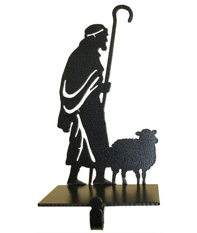 Nativity Shepherd and Sheep
