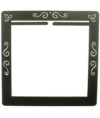 Scroll Deco Wall Frame Split Top