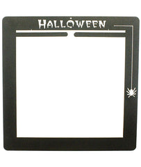 Halloween Deco Wall Frame Split Top