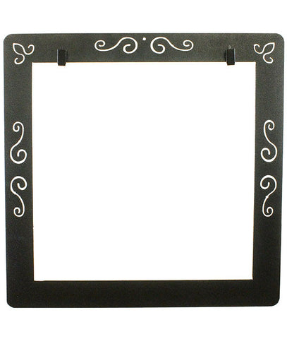 Scroll Deco Frame With Clips