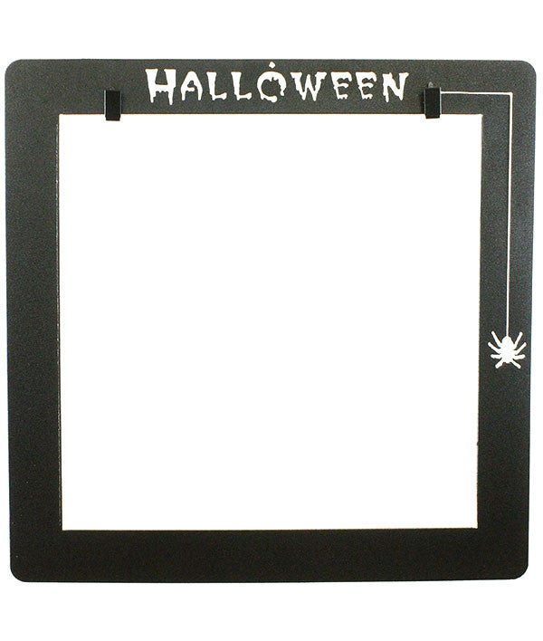 Halloween Deco Frame With Clips