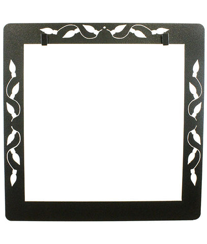 Christmas Lights Deco Frame With Clips