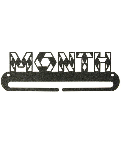 8 inch MONTH Split Bottom, charcoal