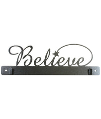 14 Inch Believe With Clips,  Charcoal