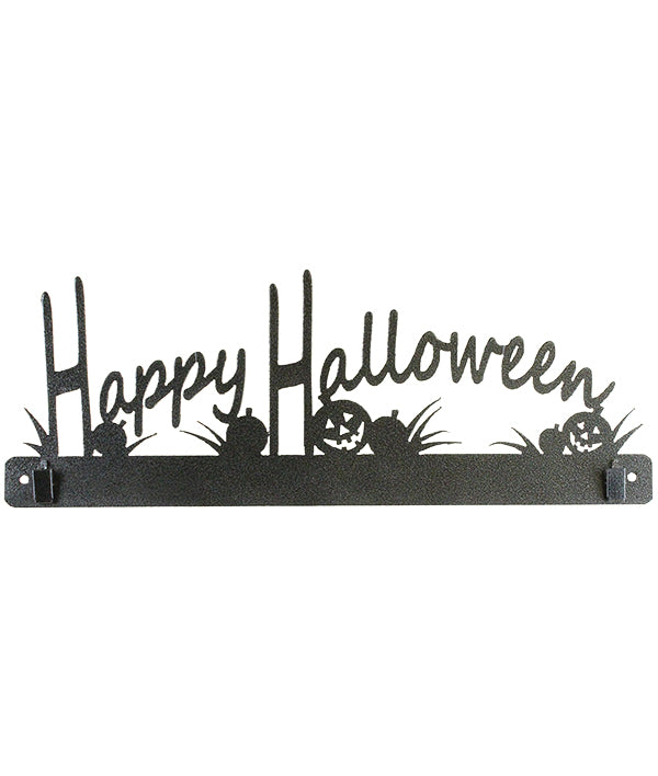 12 Inch Happy Halloween with clips